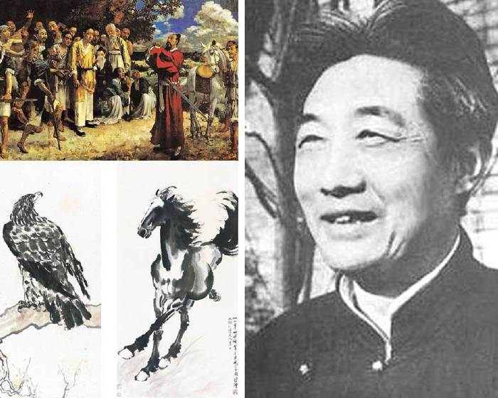 【近現代經典大師系列】首度以中國歷史為題材的史詩性畫家:徐悲鴻