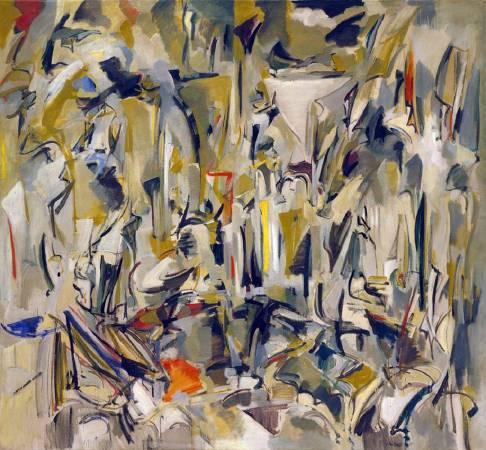 米謝爾《無題》(Untitled),1951。