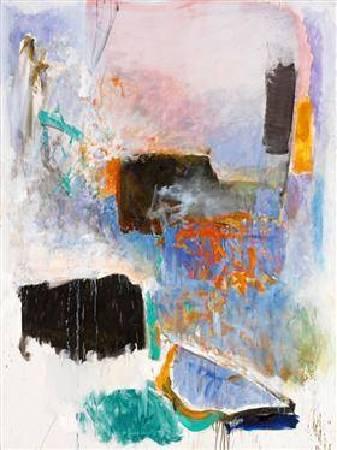 米謝爾《停泊》(Mooring),1971。