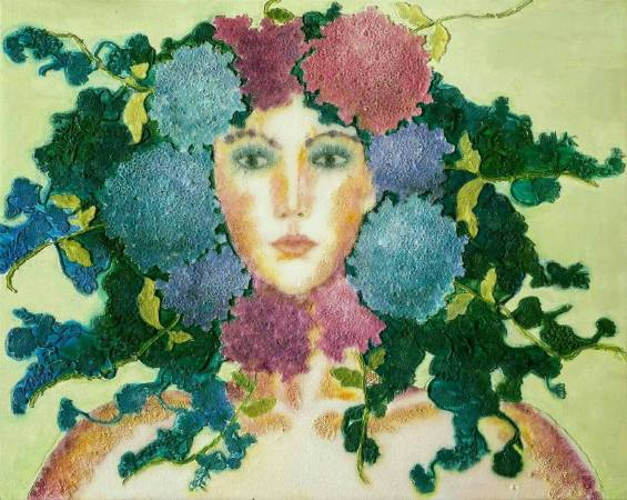 艷夏之花 - 繡球系列之一