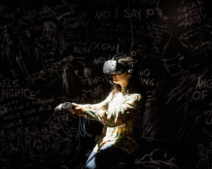 臺北市立美術館【黃心健&Laurie Anderson跨國合作VR作品《沙中房間》】