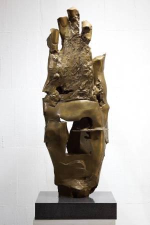 雲山行旅 20x45x125cm,Bronze,2013