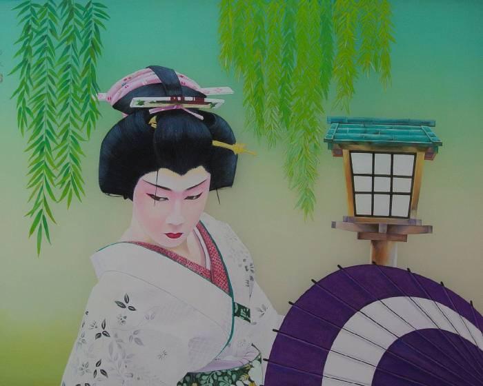 原顏藝術 UYart【極彩‧華麗】黄鴻基膠彩版畫個展