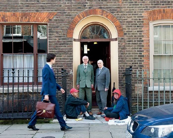 以髒話為名:英藝術組合Gilbert & George抱持初衷做藝術