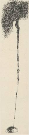 許雨仁_粗筆系列之十_53x234cm_2007_水墨、紙