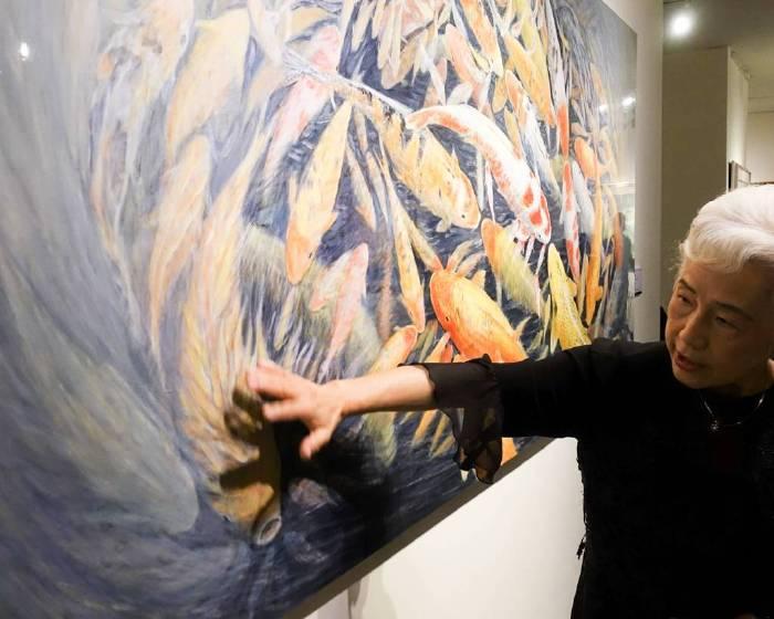 聽我的畫 郭香美「躍動的音符」完整膠彩畫創作展