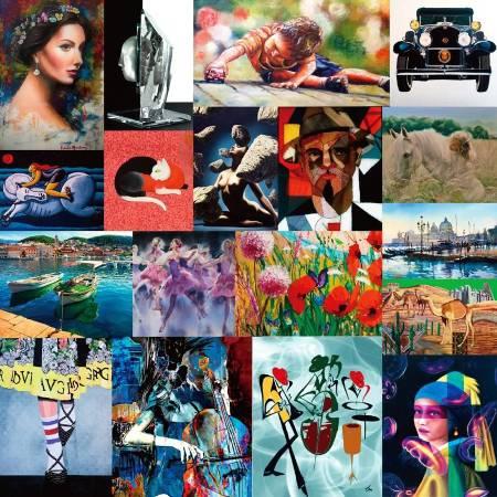 「2018國際藝術家大獎賽」計有87國4546件作品角逐,為歷年之冠。