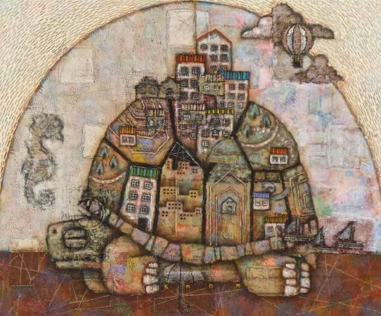 時間的都市–烏龜