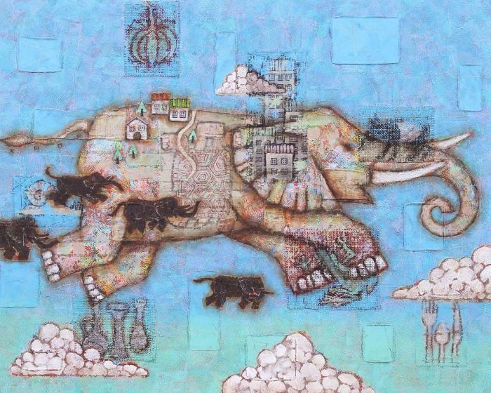 承載太古以來的記憶 觸發觀者心靈深處的曾經 金丸悠兒(Yuji KANAMARU)的藝術創作