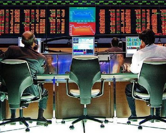 用整牆陽具 看紐約股市漲跌
