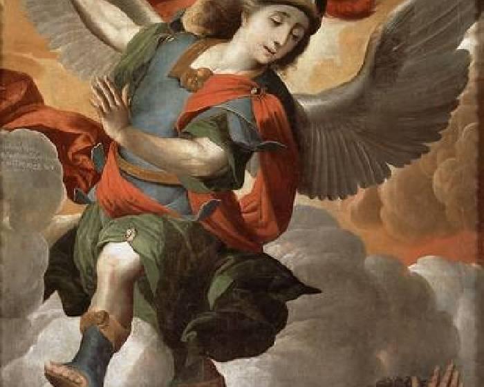 顧自拍 大天使米迦勒墜地