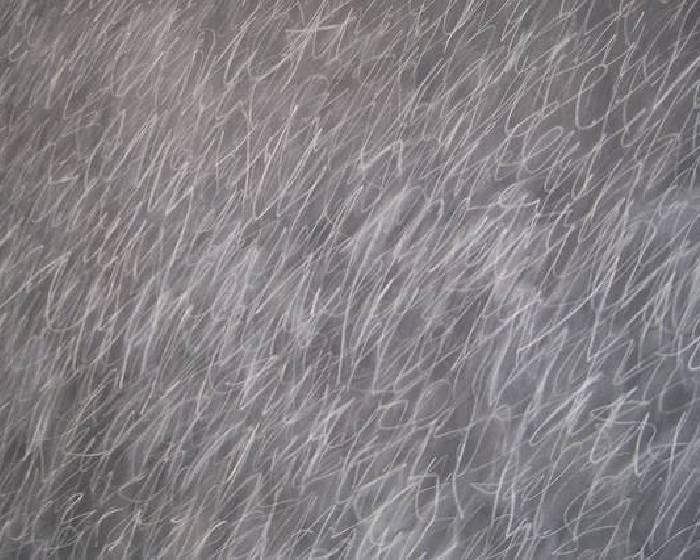 蘇富比今年最高價作品  塞‧湯伯利的黑板塗鴉