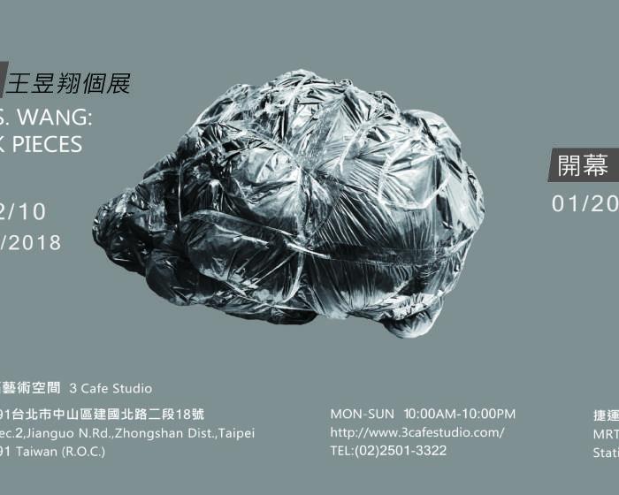 三福藝術空間【造景運動-王昱翔個展 Charlies Y.S. Wang:Patchwork Pieces 】2018年度首檔藝術家邀請展