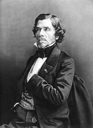 Eugène Delacroix。圖/取自Wikipedia。