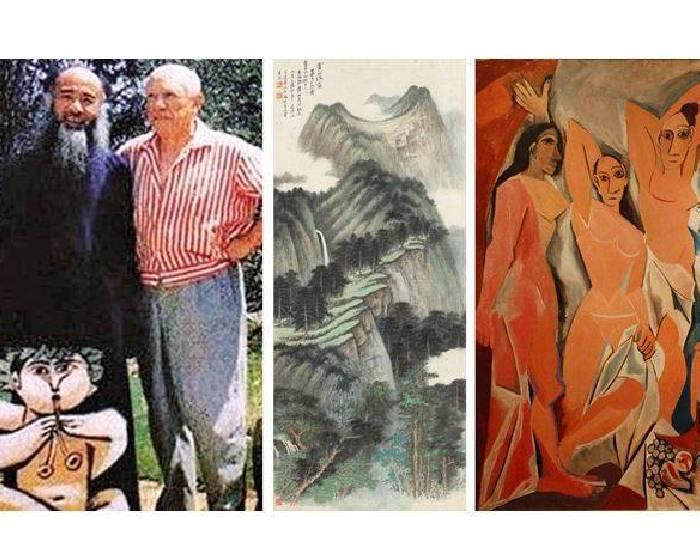 張大千《一位國畫大師如何追上畢卡索》