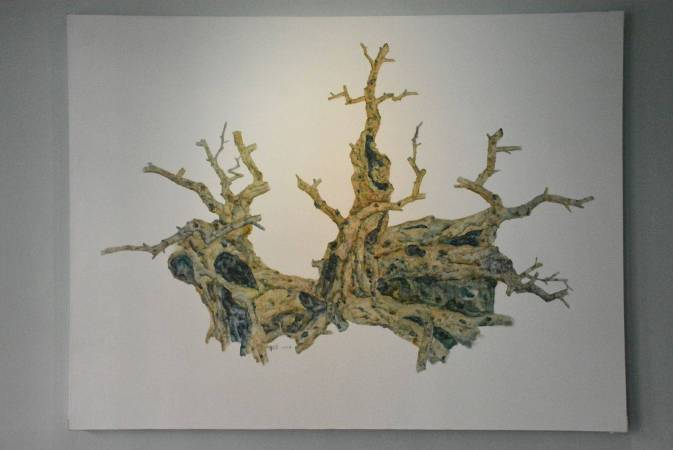 樹影 No.10 150x200cm 2017 油彩、畫布