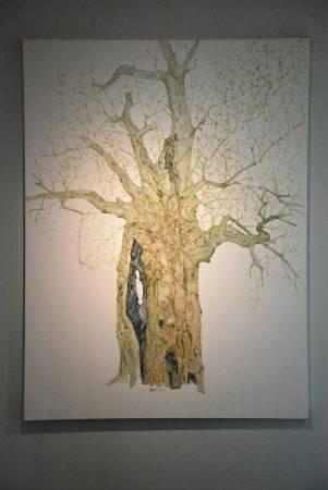樹影 No.11 150x200cm 2017 油彩、畫布