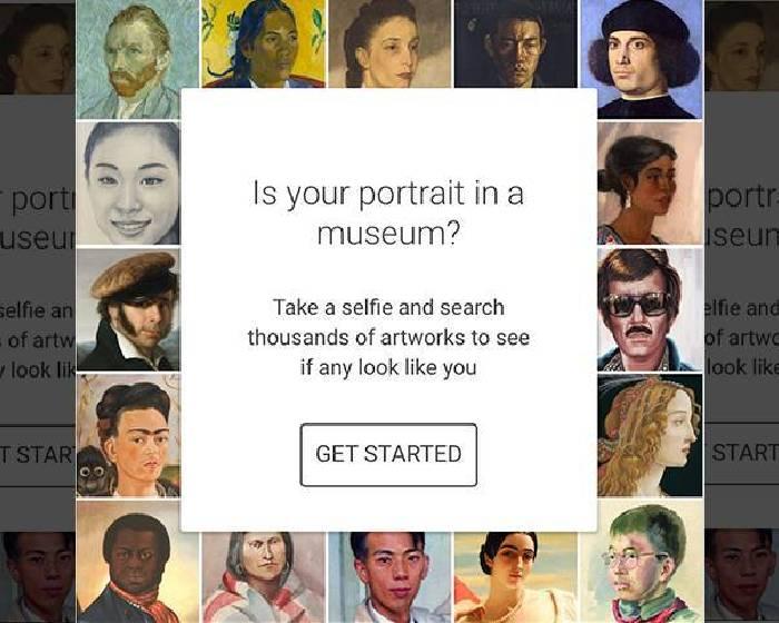 你跟古典名畫裡的人撞臉嗎 GOOGLE APP幫你比對自拍照