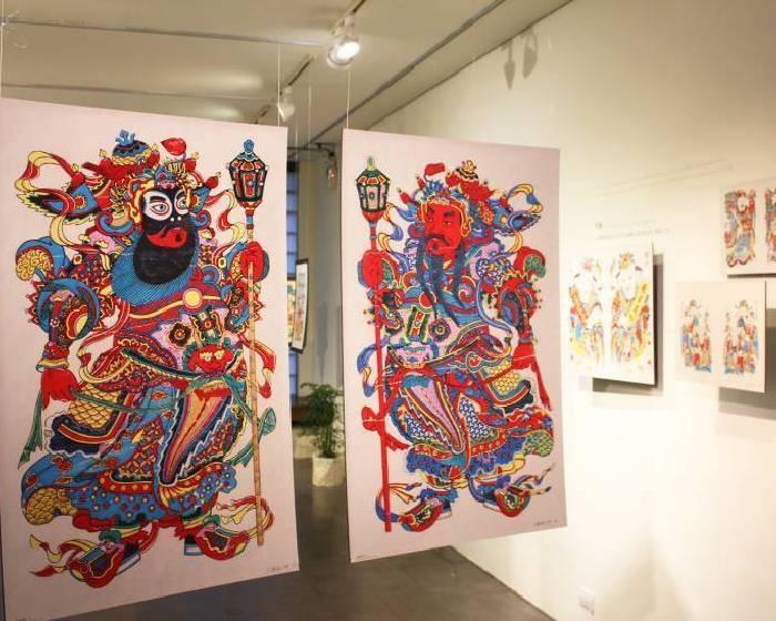 樹火紀念紙博物館:《年年畫家常 — 武強年畫邀請展》