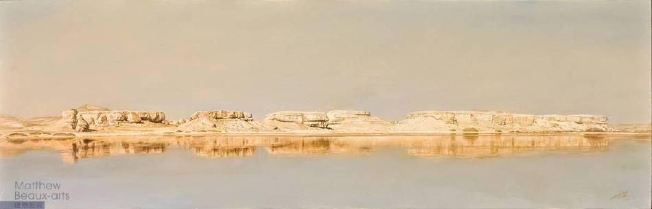 大漠甘泉‧忘憂湖