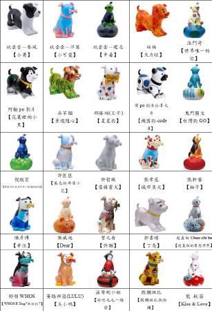 300隻狗狗大軍-彩繪系列狗狗