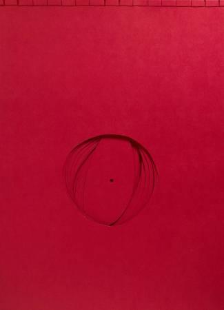 朱為白,鴻福,冊頁紙雕,109.7x79cm,2010。