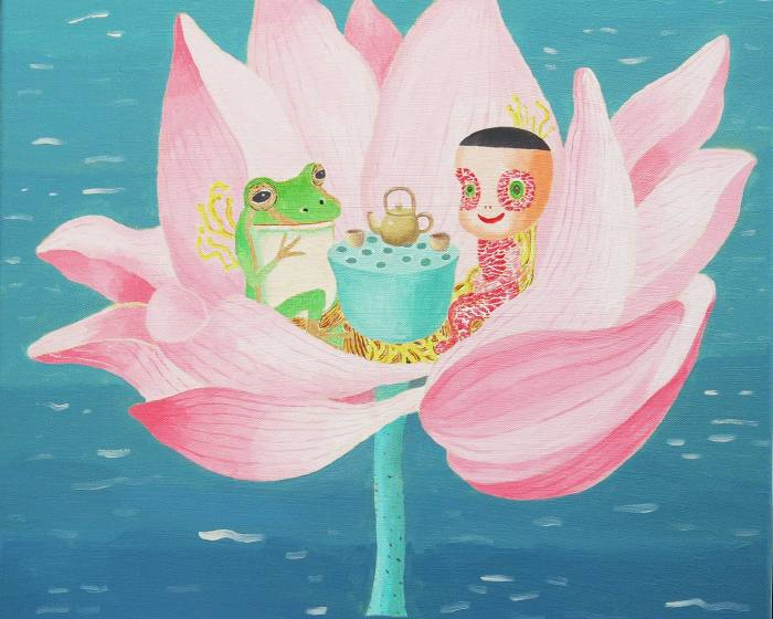 晶泉丰旅【「我們在此相遇」】作客共享 駐村藝術  NO4 繪畫藝術家 – 吳衍震