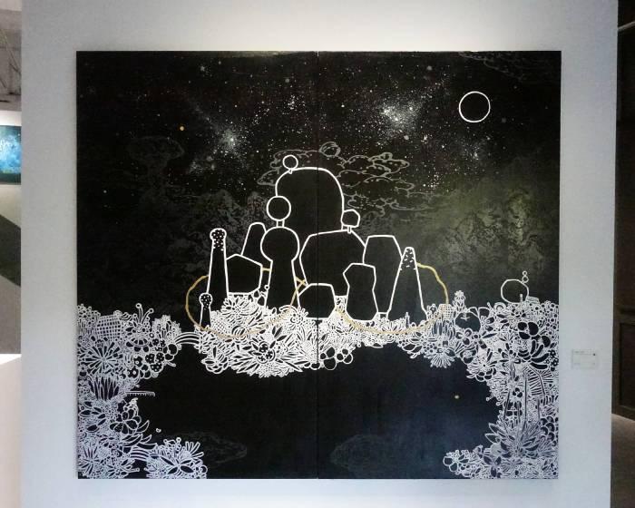 大雋藝術 Rich Art:【花園裡的線索】呂英菖 張騰遠 聯展