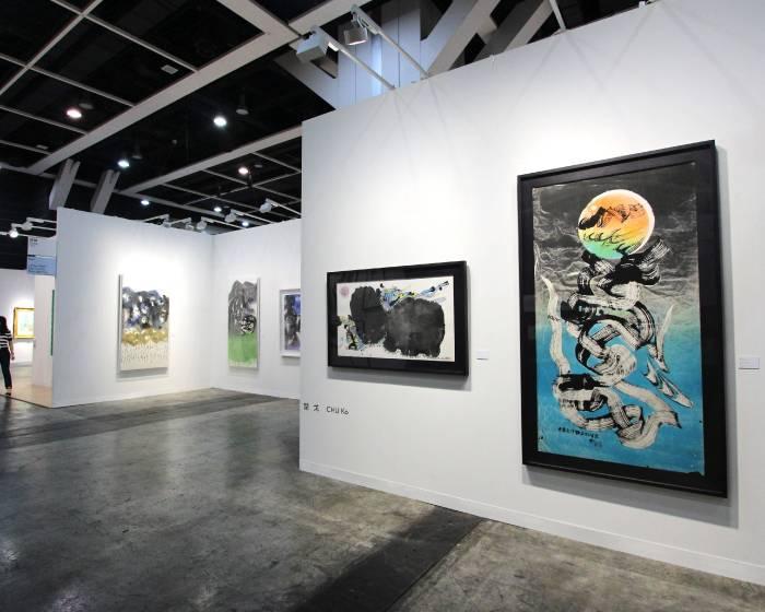 香港巴塞爾藝術展 台灣畫廊現場相簿集錦