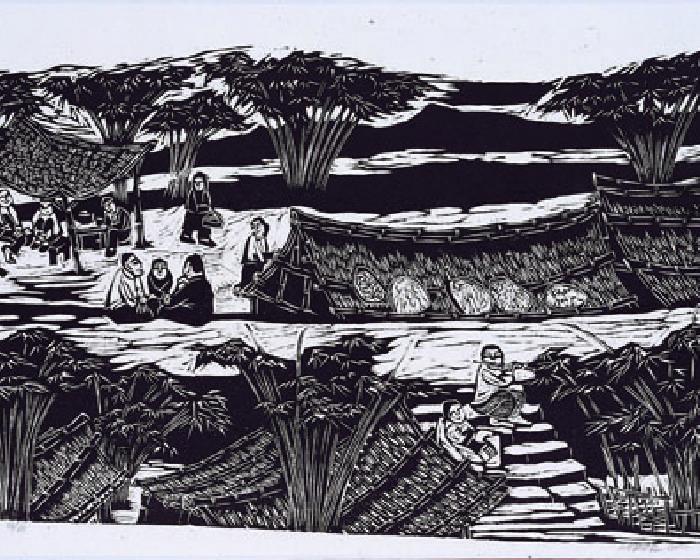 月臨畫廊【光陰的故事】朱為白x吳昊版畫展