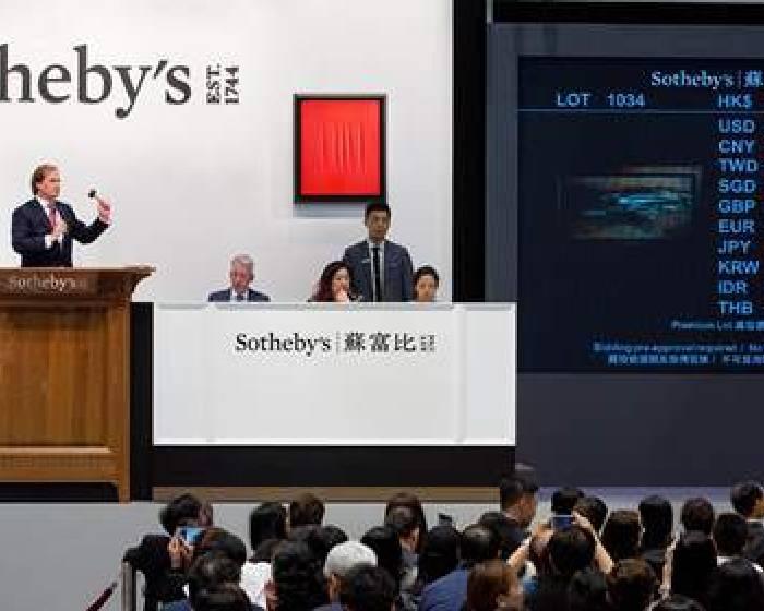香港蘇富比現當代晚拍 3.2億趙無極居華人現代藝術之首