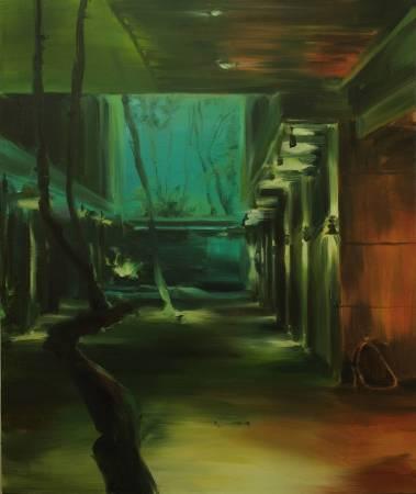8. 鄒享想 Tsou Hsiang Hsiang 'A208', 2017, 油畫顏料、畫布 oil on canvas, 72.5x60.5cm