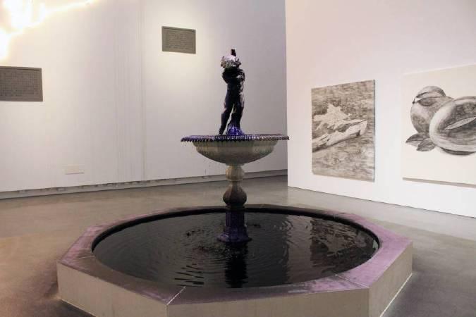 謝素梅,《許多說過的話》,2009-2017。圖/非池中藝術網攝。