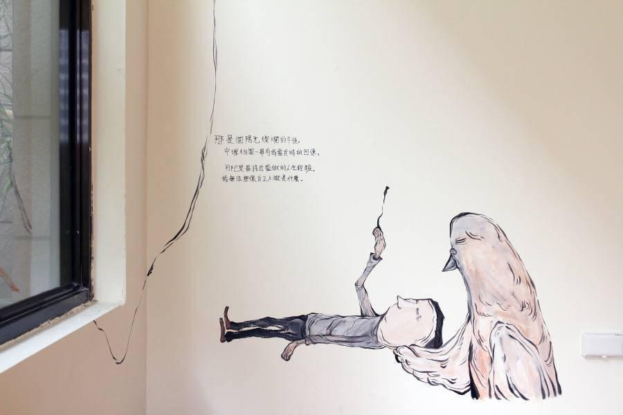 Candy Bird,《The others - 2》,2018。圖/非池中藝術網攝。