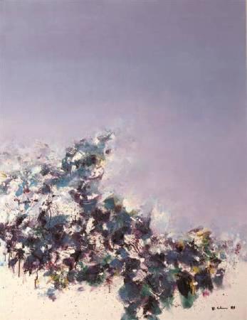 《海舞系列》,1983,油彩、畫布,112×145.5公分