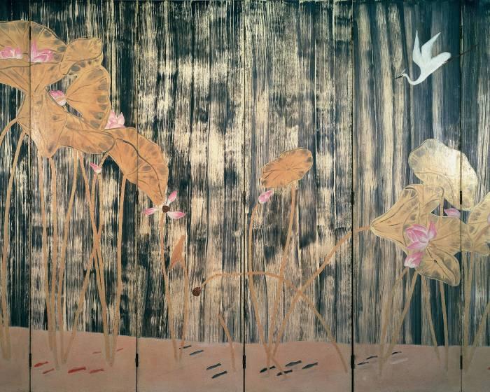 大未來林舍畫廊:【常玉–寄黑藏白醉粉紅】San yu, In a Reverie of Black, White, and Pink.