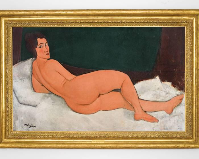 莫迪里安尼最大尺幅作品 蘇富比估價逾1.5億美元史上最高