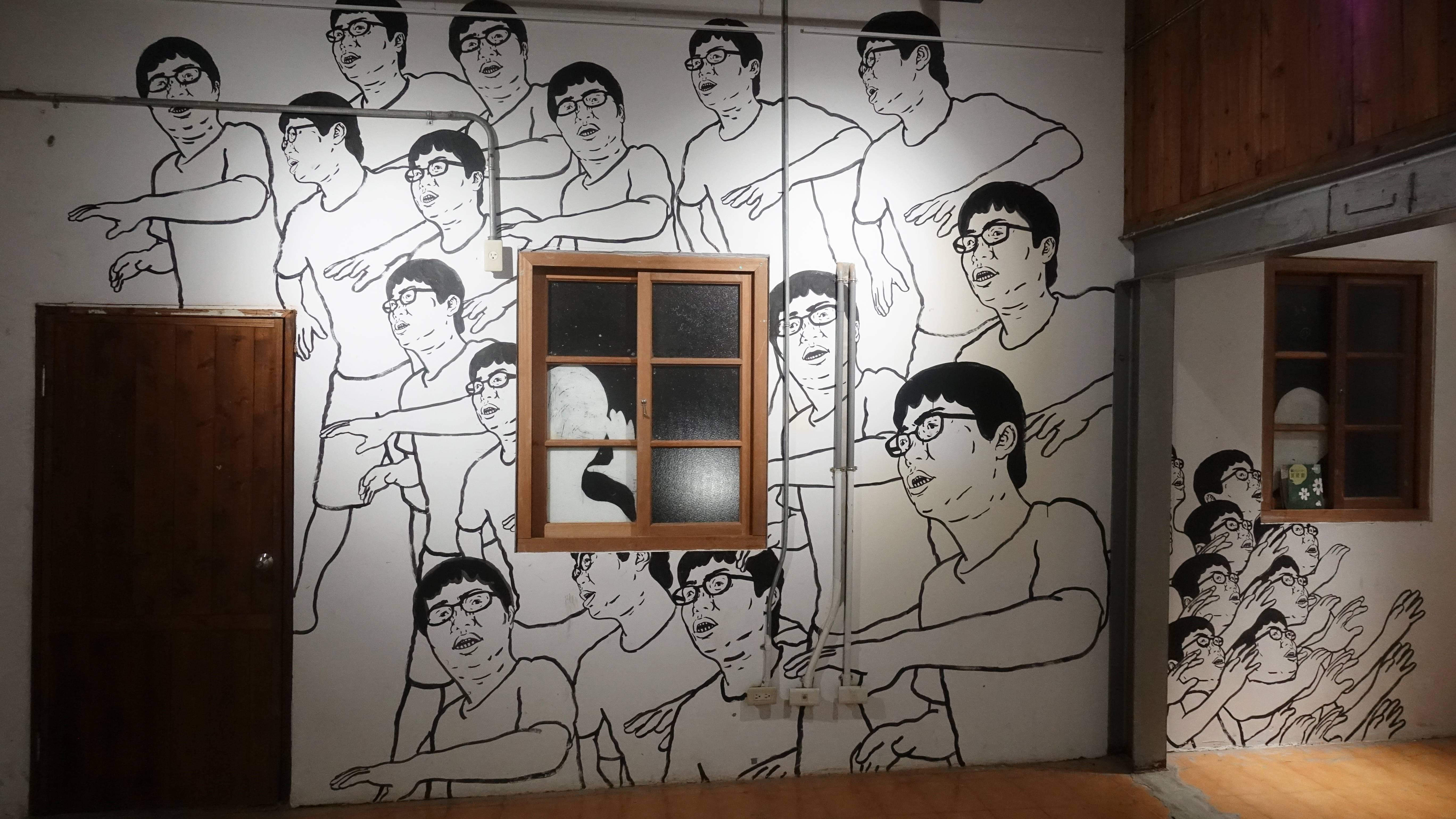 許哲瑜 HSU Che-Yu,〈哥哥的肖像〉My Brother's Portrait 。圖/非池中藝術網攝。