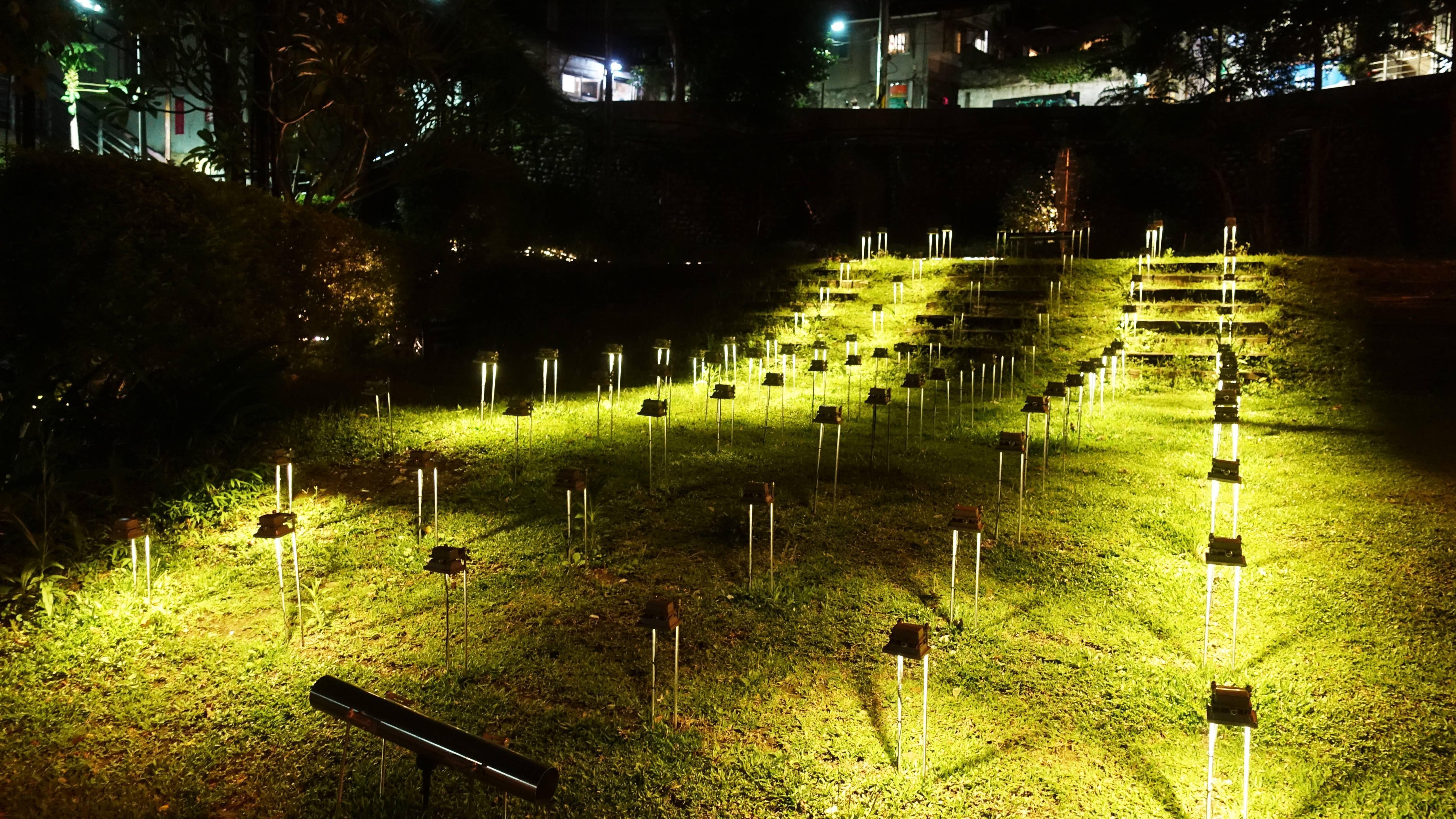 姚仲涵 YAO Chung-Han,〈光電獸#6-草地〉An Electronic Monster #6-Grass。圖/非池中藝術網攝。