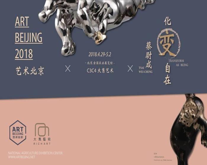 大雋藝術 Rich Art:【2018藝術北京】蔡尉成 化變自在
