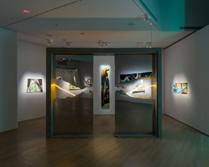 藝文直擊|周代焌「無為而治」個展