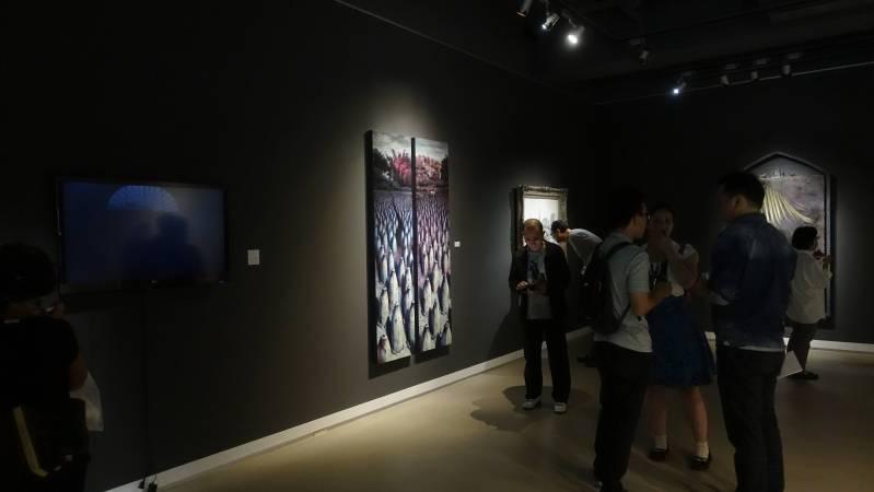 展場一景。圖/非池中藝術網攝。