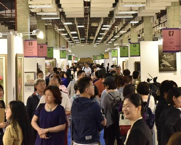 台北新藝術博覽會【台北新藝術博覽會2018 Art Revolution Taipei】歐美名家 高手比畫