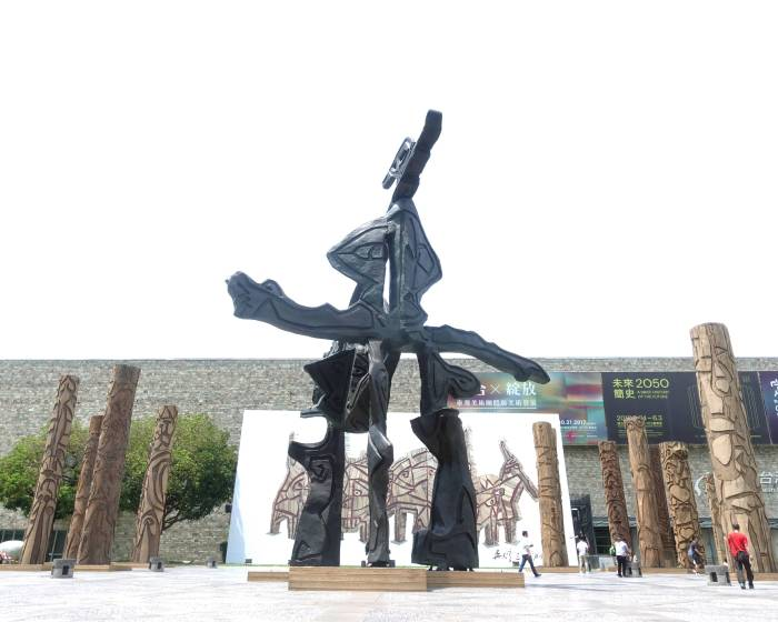 國立台灣美術館:【直覺‧記憶‧原始能量:吳炫三回顧展】