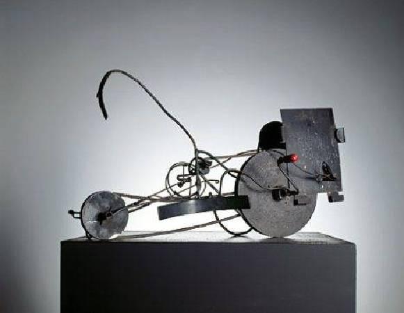尚‧丁格利《Meta-Matic No. 14》,1959。圖/取自Wikiart。