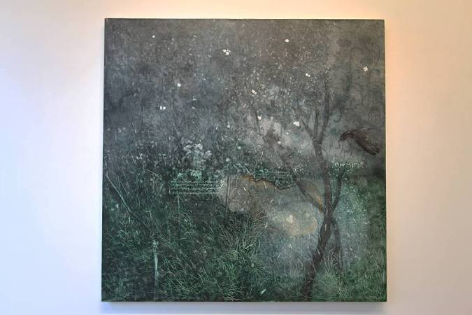 李瑞,《淡月朦朧》,2015