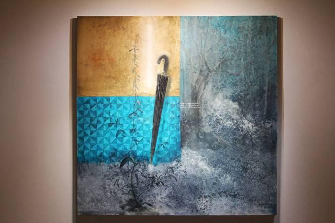 李瑞,《牆角的歌者》,2017