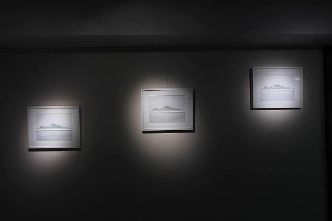 王昱翔,《(左起)山海一線01、02、03》,2017