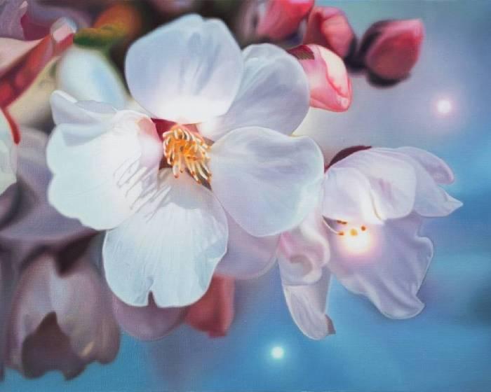 """感覺和幻覺的互生:楊勛的""""花卉""""系列"""
