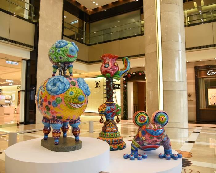 印象畫廊【2015 洪易 羊年 藝術雕塑展】
